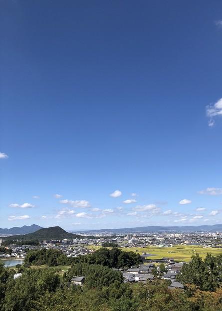 甘樫丘展望台02  畝傍山