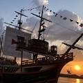 サンタマリア号:大阪の船02
