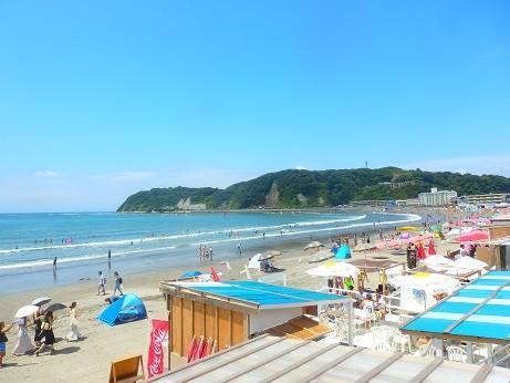 夏の海~逗子海岸