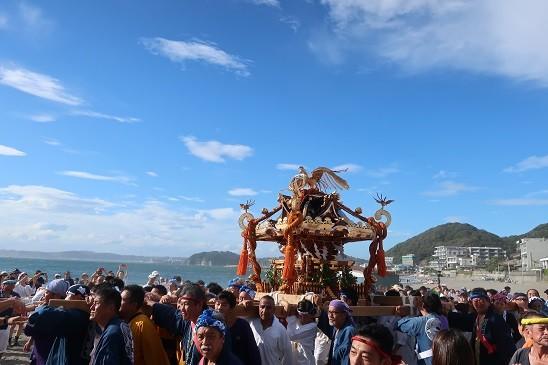 葉山森戸神社祭礼