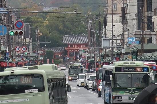 奥に八坂神社