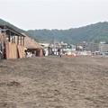 Photos: 夏の準備中 逗子海岸