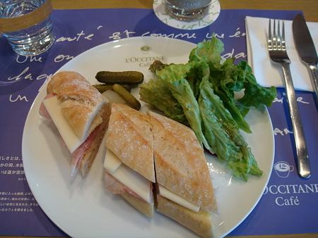 ジャンボンフロマージュ@L'OCCITANE CAFE