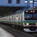 写真: E231系NN入場