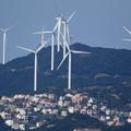 写真: 風力発電