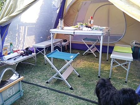 庭キャンプ1