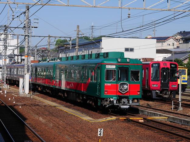 天空+真田赤備え列車