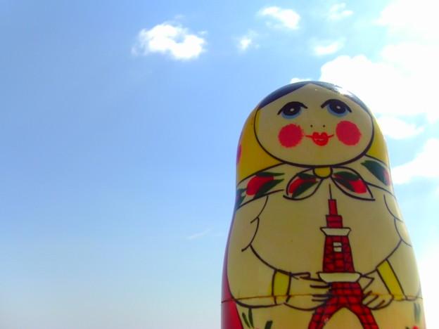 東京タワーを抱えて