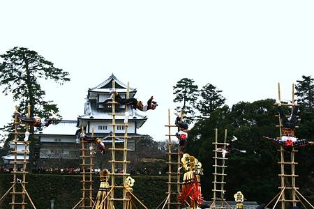 加賀とび(2) 金沢市消防出初式