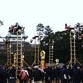 写真: 加賀とび「足留め表」 金沢消防出初式