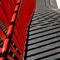 Photos: 赤い柵