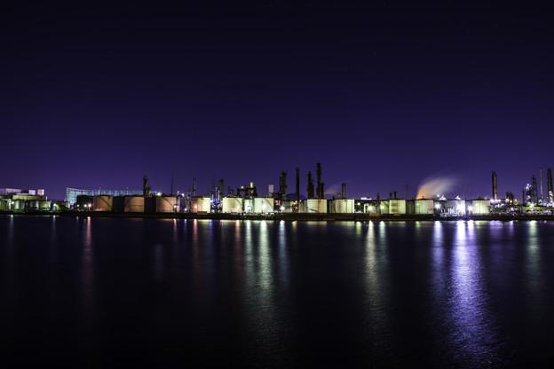 写真: 工場萌え「千鳥町埠頭」