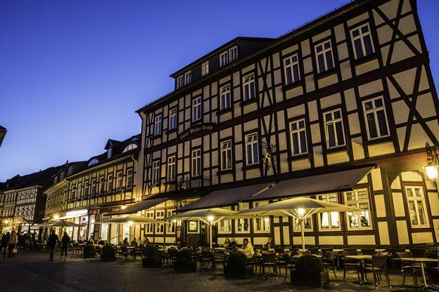 木組みの街「夜景」