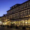 写真: 木組みの街「夜景」