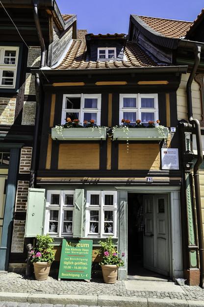 木組みの家「町で一番小さい家」