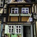 写真: 木組みの家「町で一番小さい家」