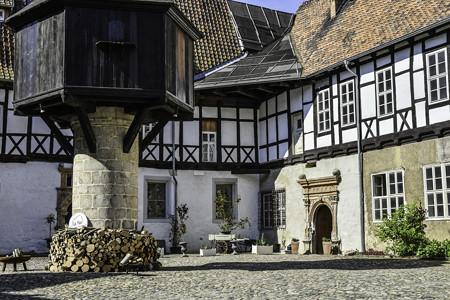 街並み「木組みの家」