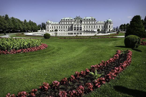 ベルヴェデーレ宮殿上宮 (1)