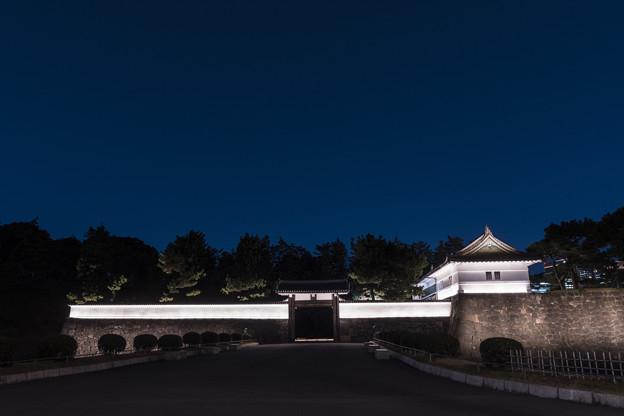 桜田門「ライトアップ」