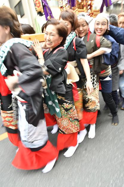 女神輿「吉原神社」