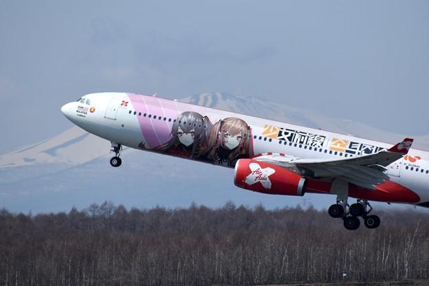 A330-300 9M-XXB AirAsia X 少女前線