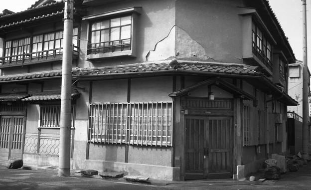 昭和53年 龍神・栄橋の赤線跡