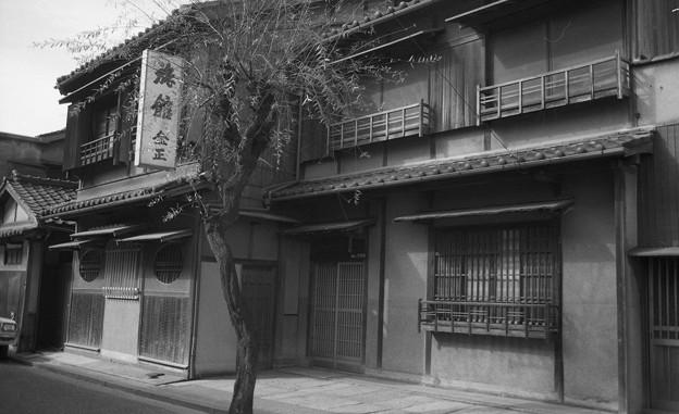昭和53年 龍神地区の遊郭跡