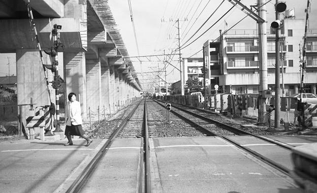 Photos: 昭和53年 出島線踏切