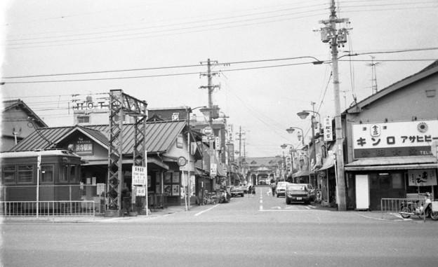 写真: 昭和53年 浜寺駅