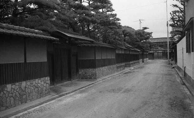 昭和53年 浜寺別荘街