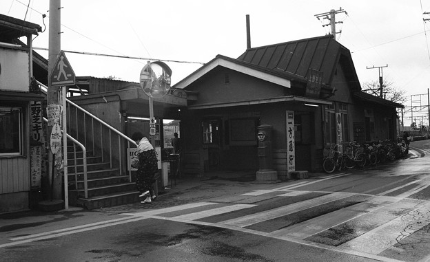 写真: S53 国鉄上野芝駅2