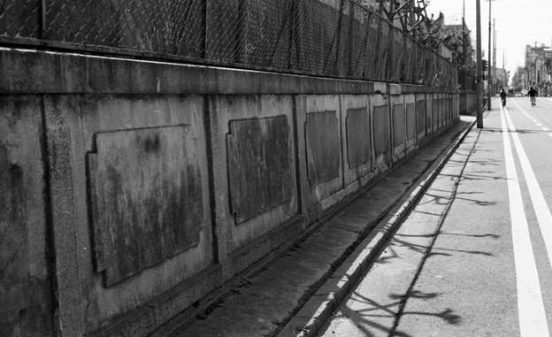 S53 泉陽高校の塀3
