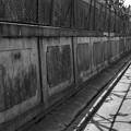 写真: S53 泉陽高校の塀3