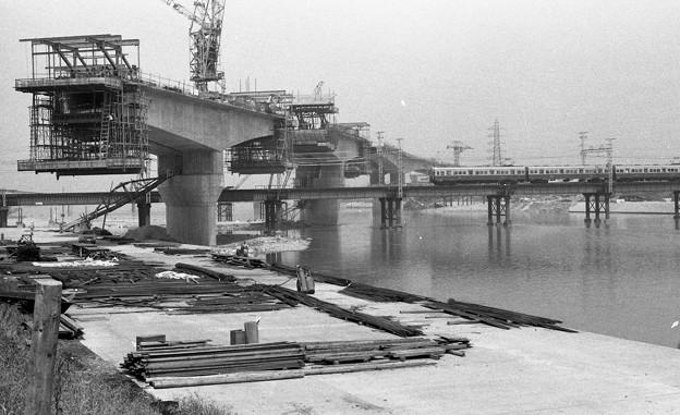 Photos: 阪神高速道路工事