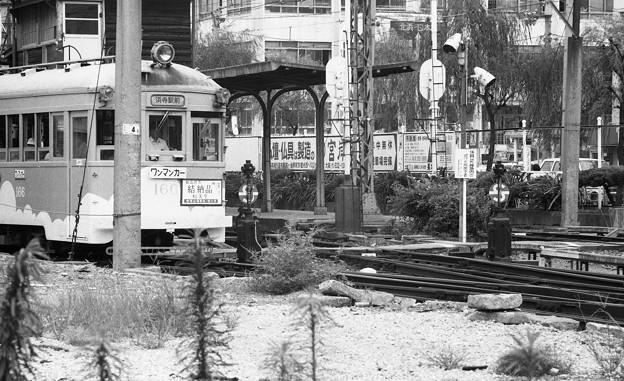 阪堺線恵美須町停留所3