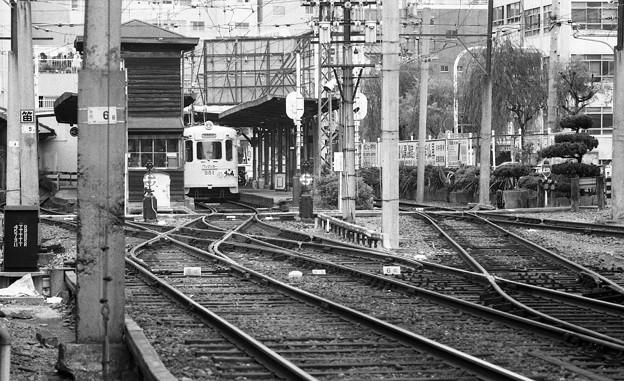 阪堺線恵美須町停留所4