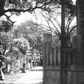 Photos: 紹鷗の森天満宮碑