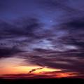 写真: 夕立過ぎて・・