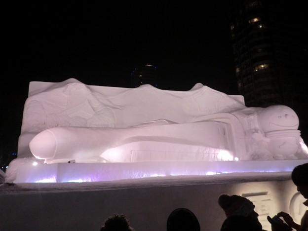第67回さっぽろ雪まつり 8丁目雪のHTB広場.4 (1024x768)
