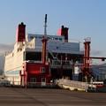 写真: 宮蘭航路就航、第一便(室蘭港にて) (2)
