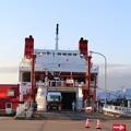 写真: 宮蘭航路就航、第一便(室蘭港にて) (3)