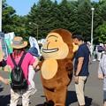 Photos: 真駒内花火にて ゆるキャラ1 (933x1400)