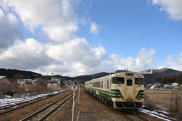 冬の寒風山(かんぷうざん)