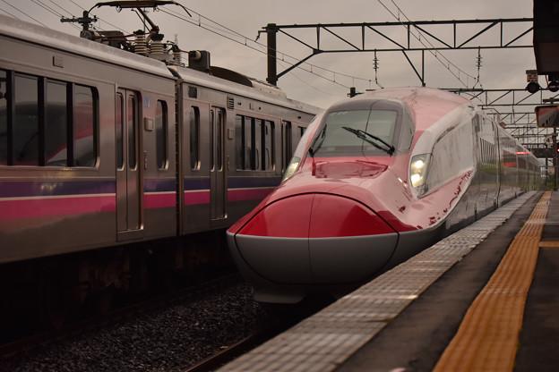 701系と車両交換