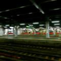 写真: 冷たい雨の秋田駅7