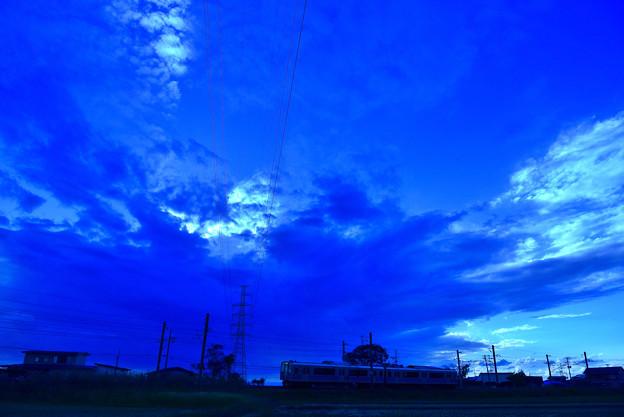 怪しい雲行き2