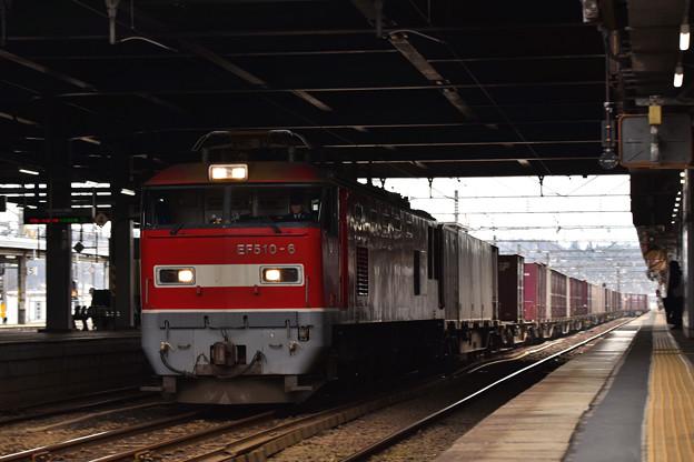 年末の秋田駅2