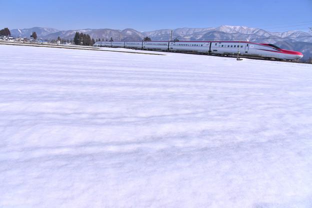 Photos: 雪の山脈