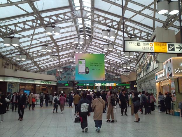 JR上野駅中央改札。