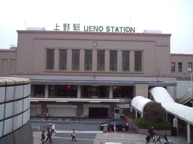 上野駅正面。